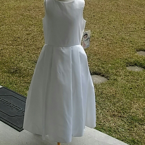 dc7c46b255ee Us Angels Dresses | Size 10 Special Occasion Dress White | Poshmark